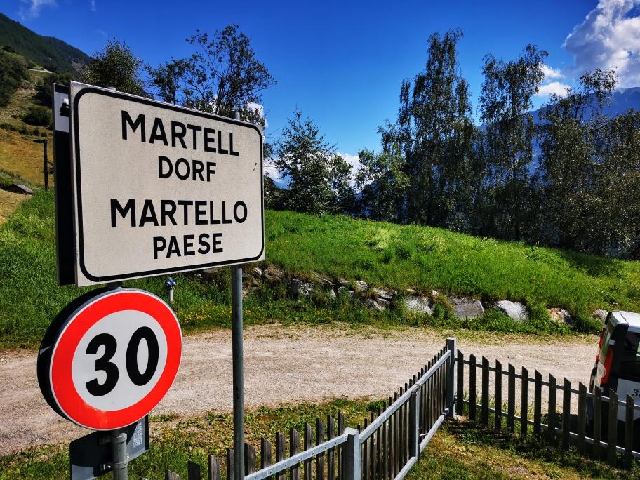 Auch Martello ist schnell erreicht
