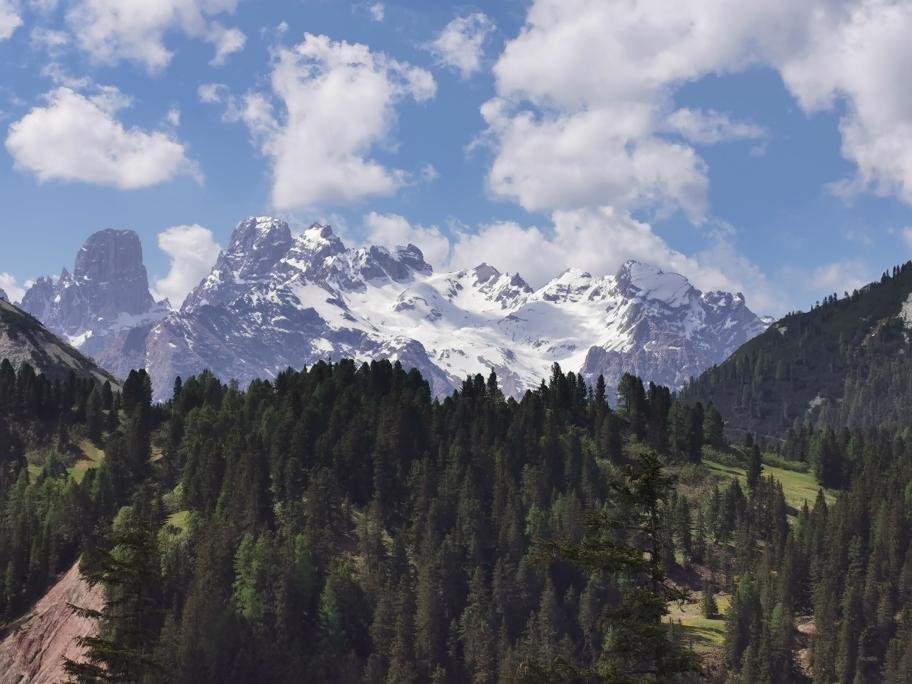 Der 3.221m hohe Monte Cristallo