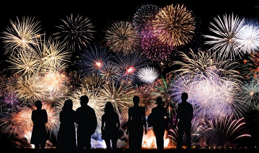 Long Beach New Years Eve  Fireworks