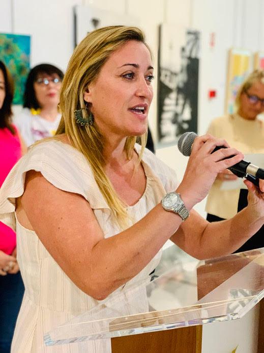 Kultur - Stadträtin von Mijas  Arancha Lopez