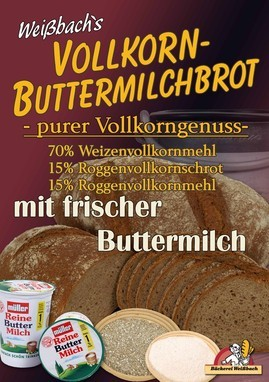 Bäckerei Weißbach Vollkorn Frühlingsbrot