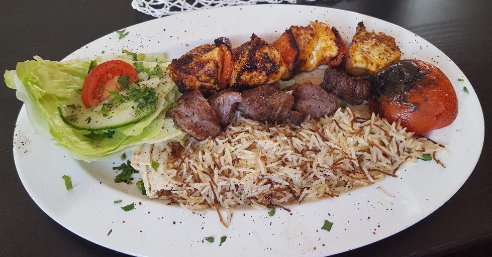 Adana Kebab mit Türkischer Reis Österreich