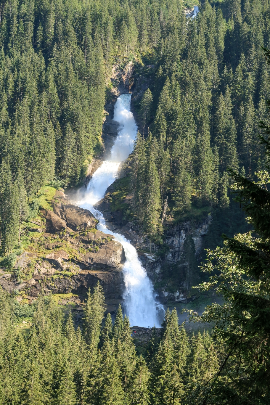 Gerlospass grosser Wasserfall