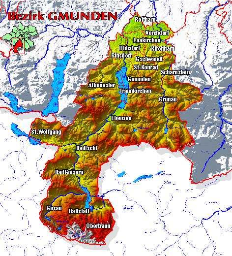 Salzkammergut Karte.Meine Salzkammergut Heimat Offizielle Webseite Vom