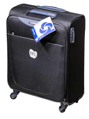 Reisetrolley von Samsonite. Firma TFL Ledertechnik.