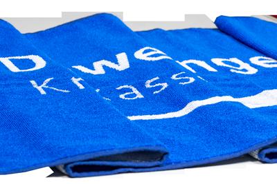 Handtuch Sonderproduktion.