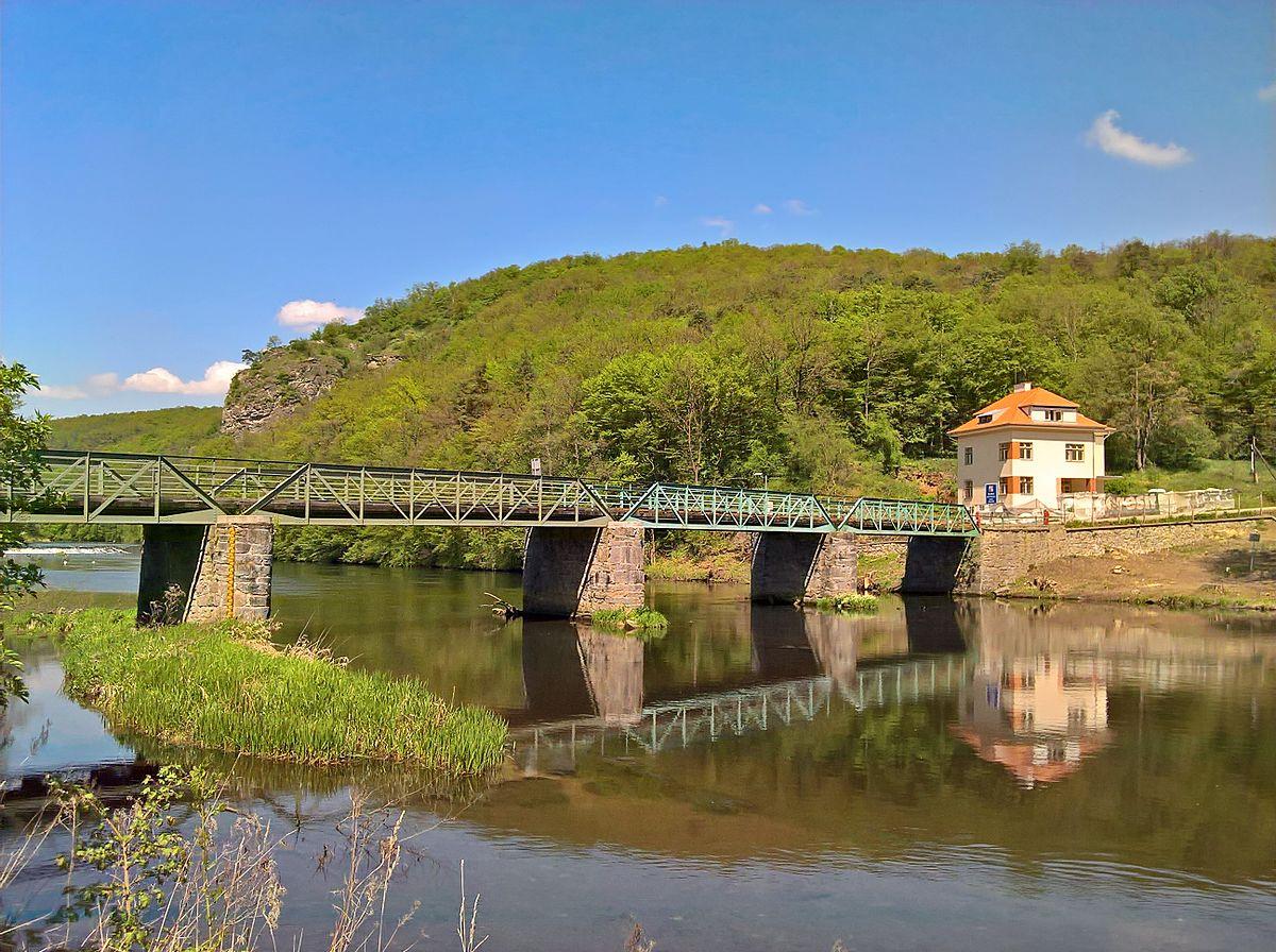 Thayabrücke - Staatsgrenze