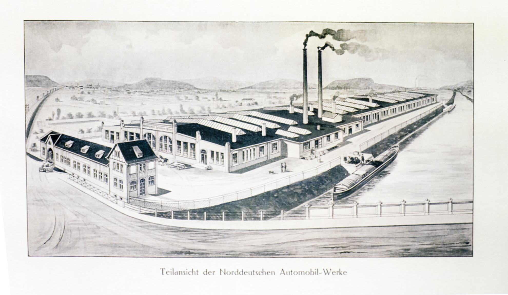 Historie der Hamelner Fahrzeuggeschichte - Museum der Hamelner ...