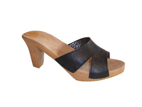 sandale mule d'été pour femme à haut talon modèle Zia