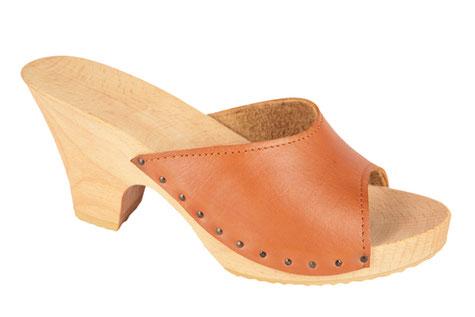 sandale d'été pour femme semelle bois compensée modèle Lola