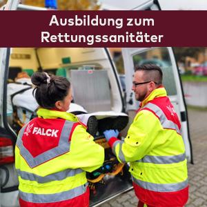 Ausbildung Rettungssanitäter Falck-Akademie Hamburg