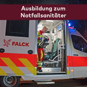 Ausbildung Notfallsanitäter Falck-Akademie Hamburg