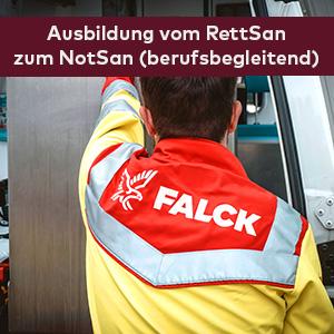 Ausbildung Rettungssanitäter berufsbegleitend Falck-Akademie Hamburg