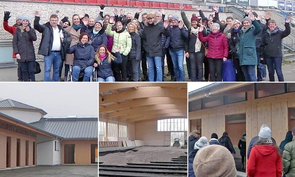 Besichtigung des Islandpferde WM Geländes