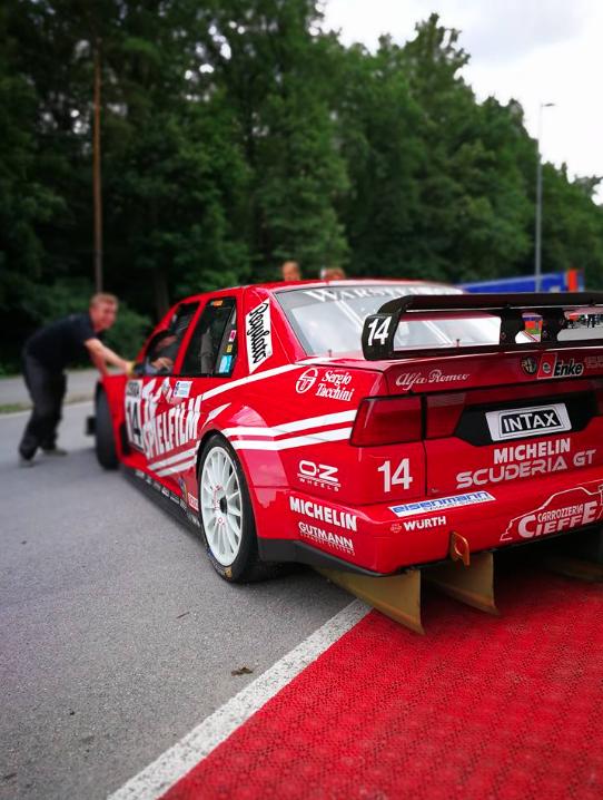 Alfa 155 Ti V6 ITC am Norisring