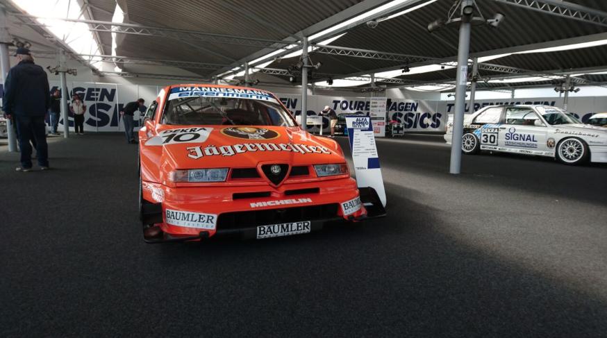 Scuderia GT beim DTM Saisonauftakt - Alfa 155 TI V6 ITC 1996 Bartels