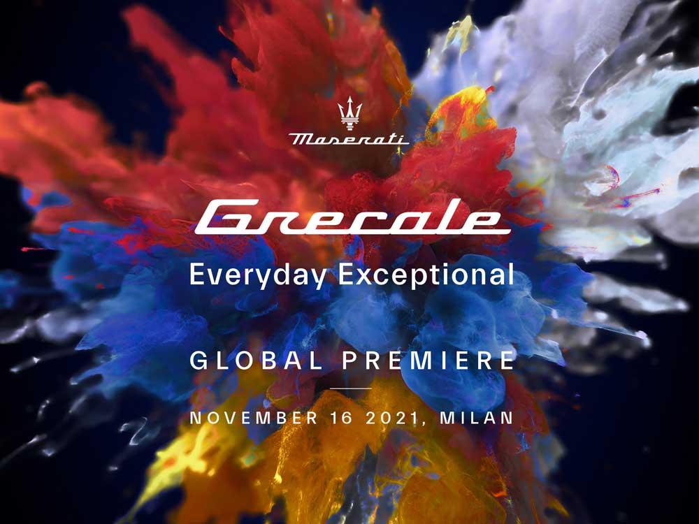 Mailand, 16. November 2021: Weltpremiere des neuen Maserati Grecale