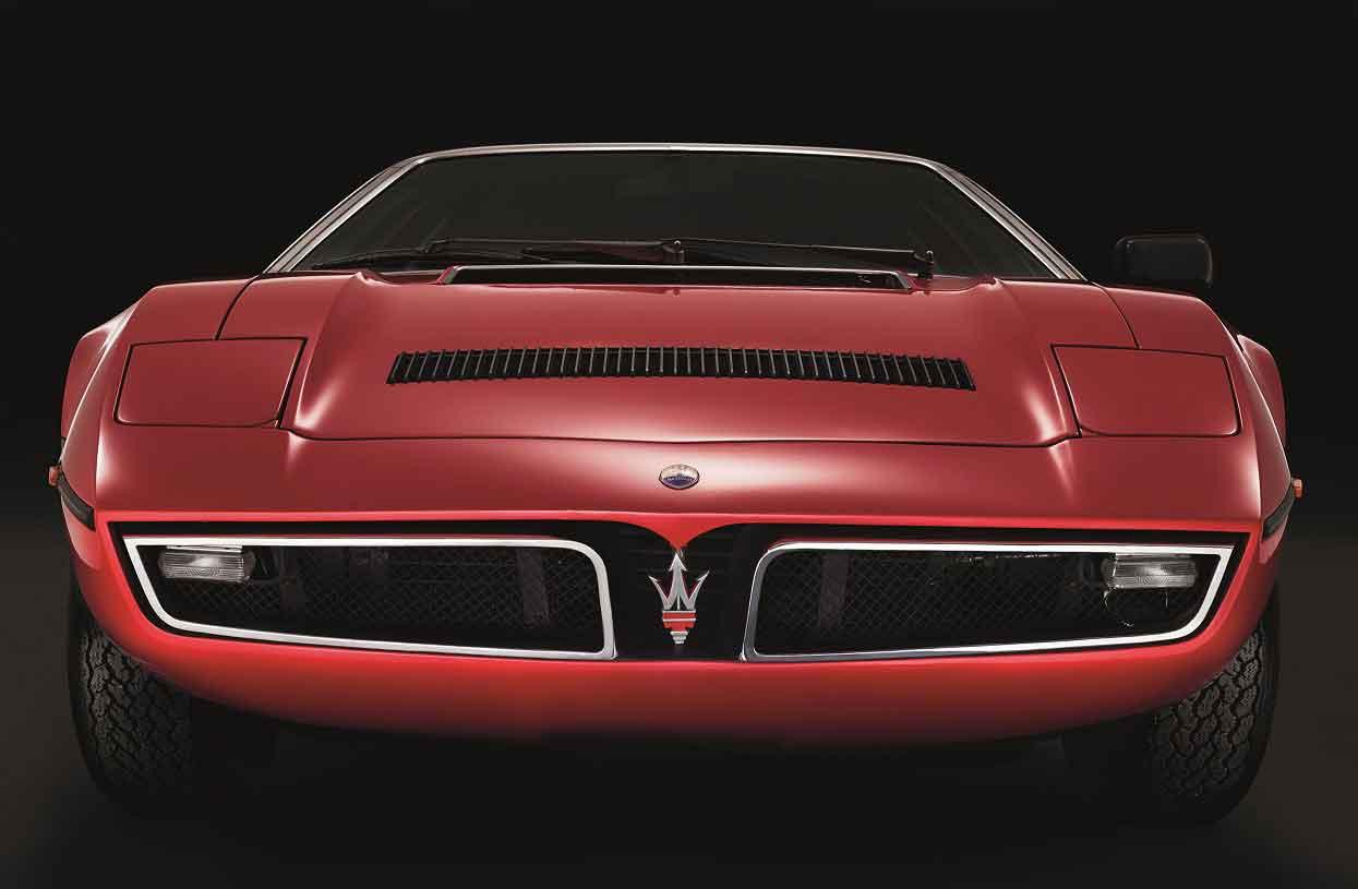 Maserati Bora feiert 50. Geburtstag