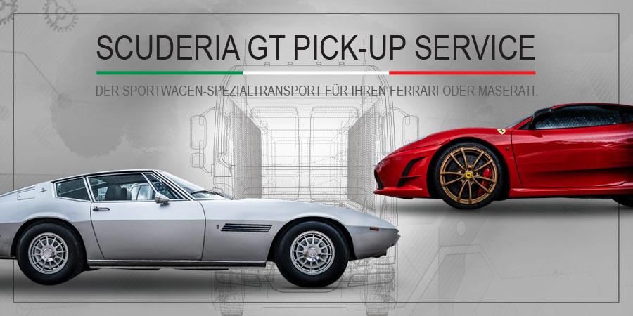 Scuderia GT Hol- und Bringservice / Pick-Up Service