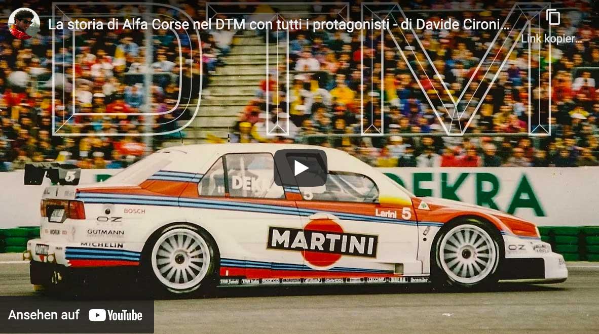 Die Scuderia GT präsentiert: Die Story des Alfa 155 V6 TI in der DTM - die Protagonisten von einst im Interview