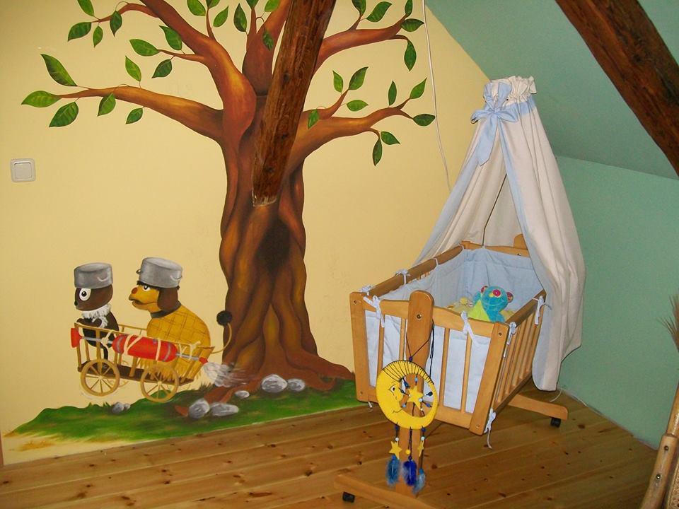 individuelle Wandmalerei für's Kinderzimmer in Riesa, Meißen, Nünchritz, Großenhain, von Butterfly-Art Melanie Nicklisch