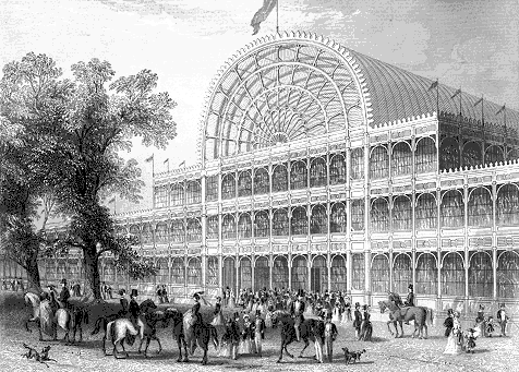 The Crystal Palace, 1851. ©Wikimedia Commons