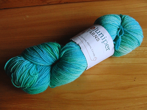 Two Juniper Cashmerino Hight Twist in colourway 'Glacier'