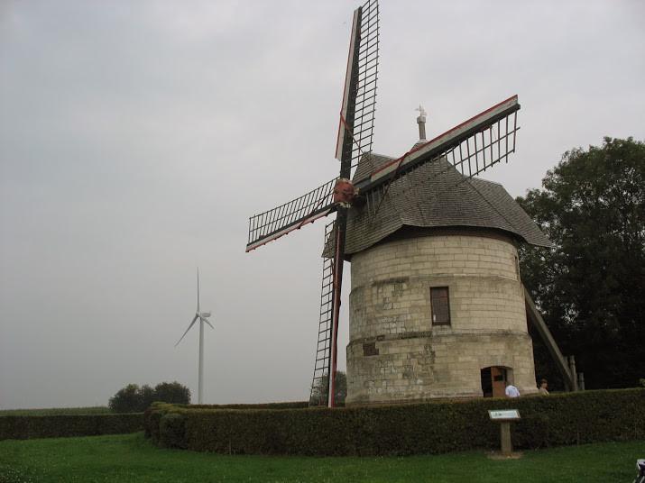 """Le moulin """"Guidon"""" à Eaucourt"""