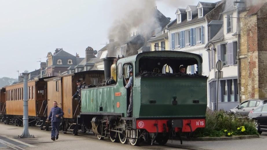 L'un des trains à vapeur de la Baie de Somme