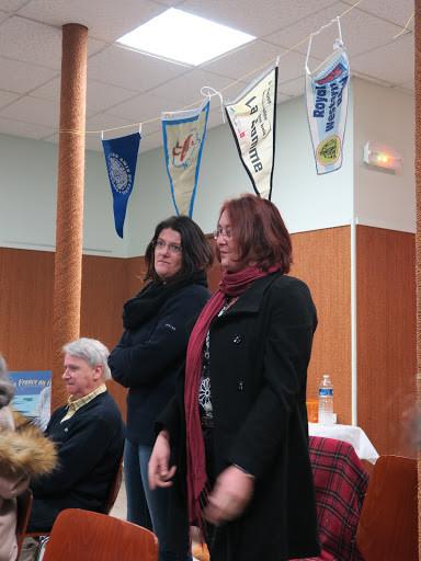 Marie et Elvina de l'Ecluse des Dames, qui ont accepté d'intégrer le Conseil d'Administration