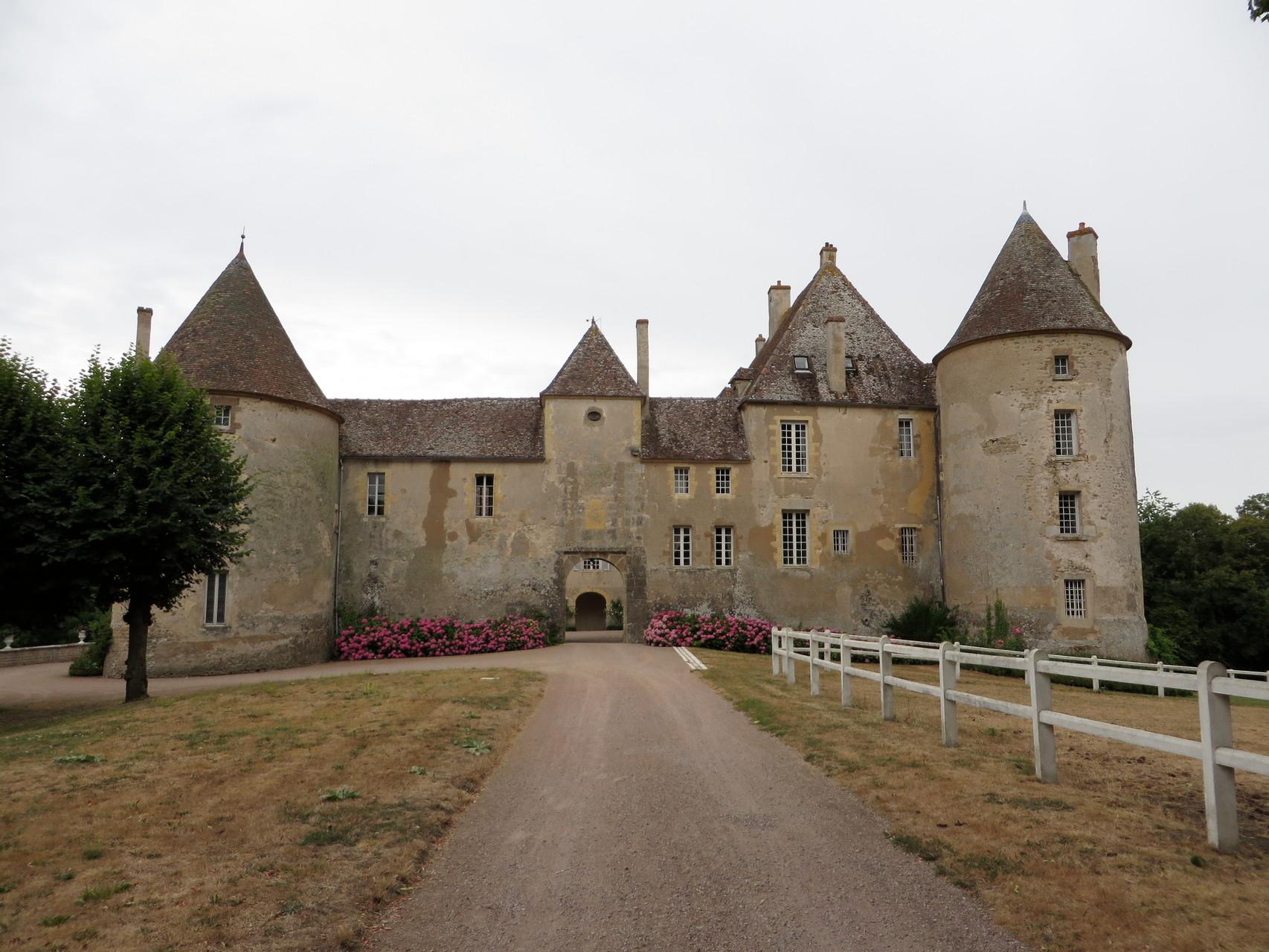 Visite du Château de Chitry-les-Mines