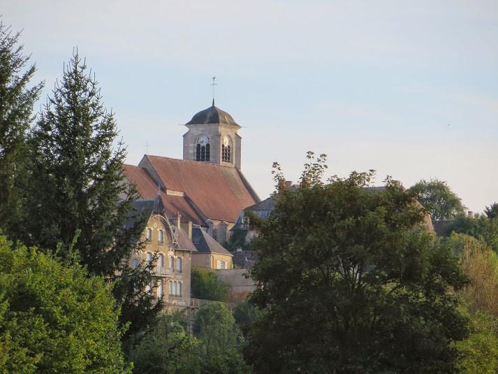 Châtel-Censoir, collégiale Saint-Potentien