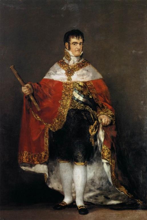 El rei Ferran VII