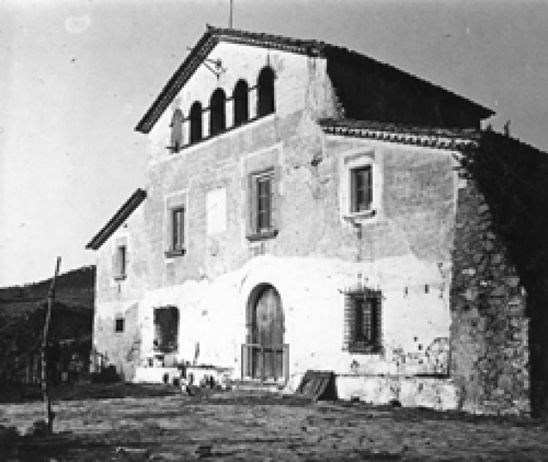 Imatge d'una típica masia catalana