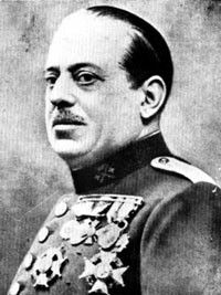 el general Sanjurjo