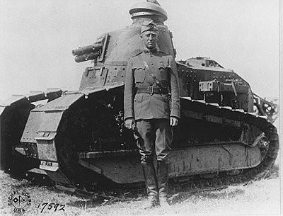Model de tanc de la guerra civil