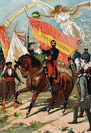 "alegoria revolucionària de ""La Gloriosa"