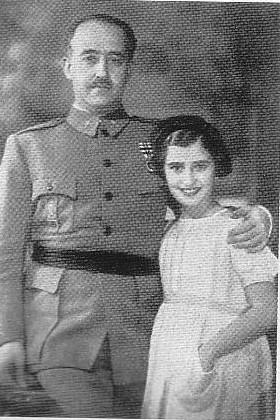 franco i la seva filla Carmencita