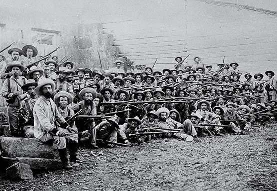 soldats espanyols a la guerra de Cuba
