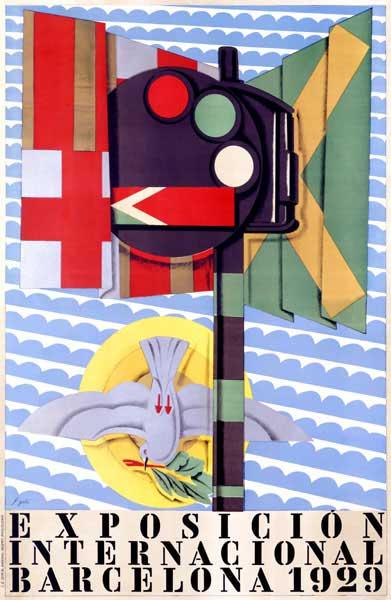 cartell de l'exposició universal de barcelona de 1929