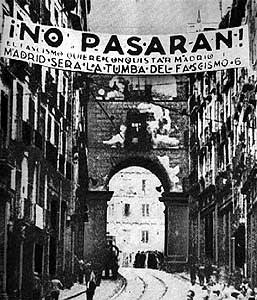 "Resistència a Madrid: ""No Pasarán"""