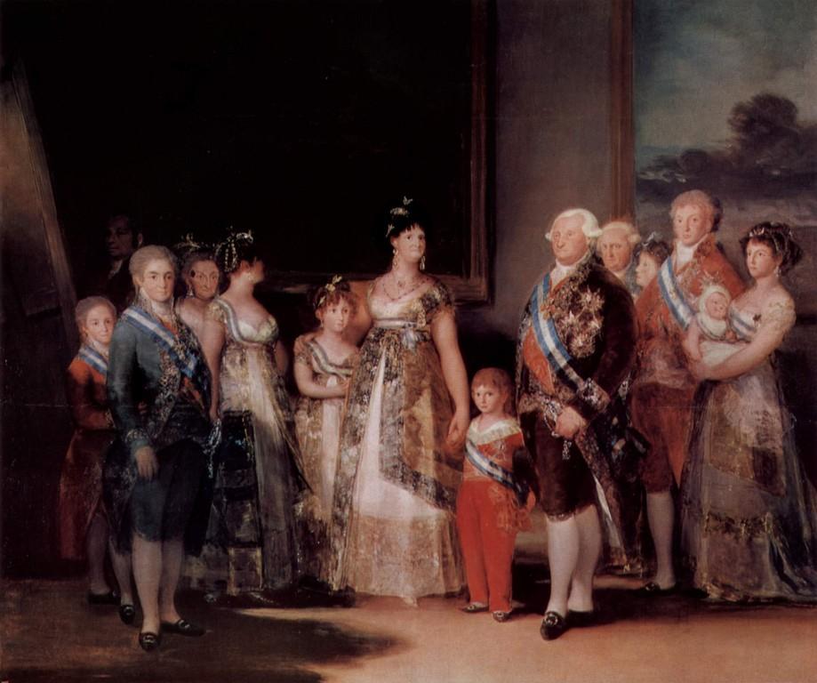 """""""La família de Carles IV"""", per Francisco de Goya"""