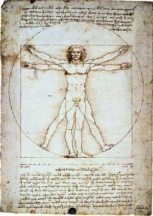 L'home de Vitruvi - Leonardo da Vinci
