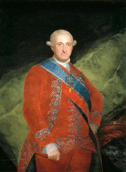 El rei Carles IV