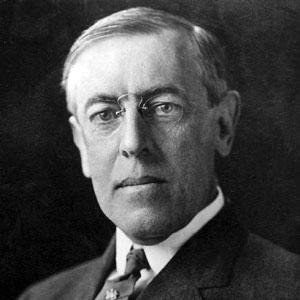 el president nord-americà Woodrow Wilson