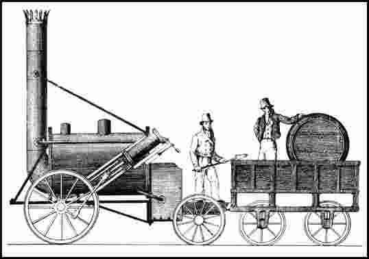 """""""Rocket"""" una de les locomotores pioneres"""