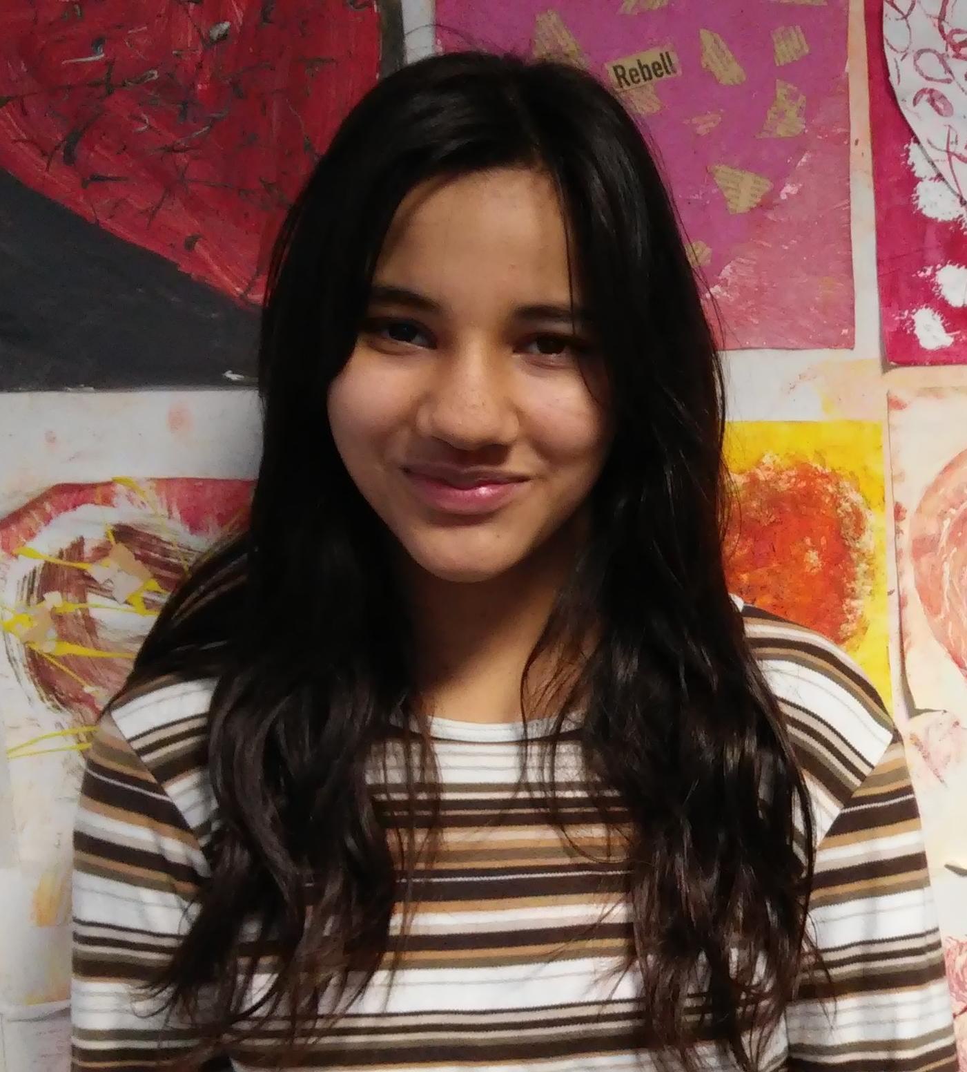 Siegerin 50m-Lauf Klasse 5 Mädchen: Salma Abdellaoui