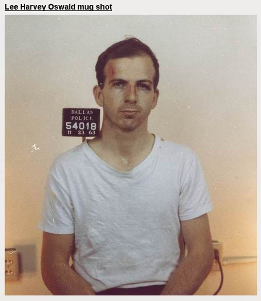Lee Harvey Oswald.