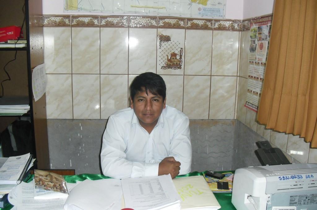 Ing. Jose Luis Bustamante Alvites - Responsable del Proyecto Fortalecimiento del Desarrollo Agropecuarios Competitivo en el ámbito del proyecto del Río Cachi