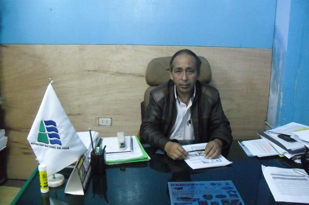 Ing. Julían Huamaní Flores - Administrador Local de Agua Ayacucho
